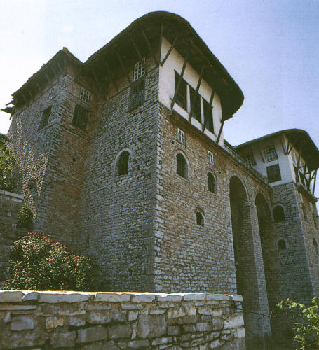 Photo courtesy of the albanian ministry of tourism for Fortress homes